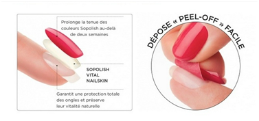 Pose de vernis semi-permanent - so polish